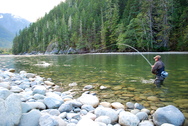 dean river report fly water travel s reel news 800 552